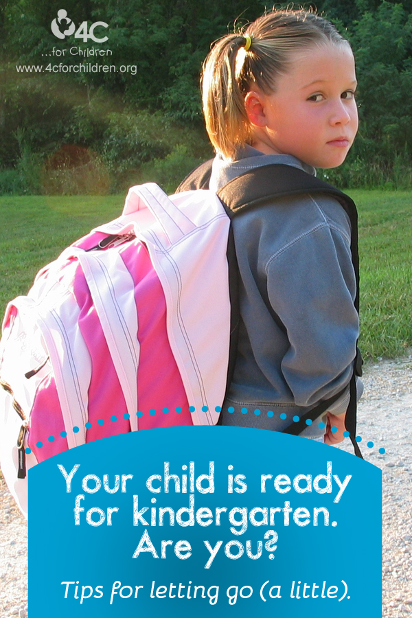 Your child is ready for kindergarten. Are you? How you can stay involved, but let your children grow.