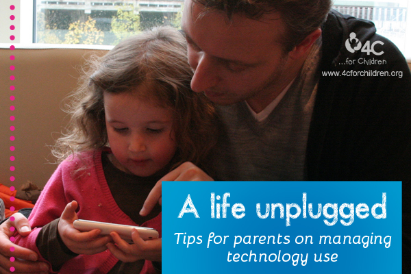 Sometimes, our use of technology can get in the way of actually living our lives. What's a parent to do?