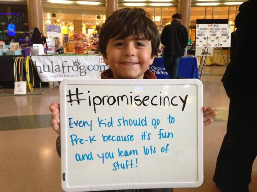 Photograph courtesy of The Cincinnati Preschool Promise.