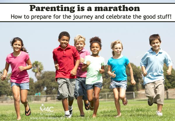All parents are marathoners!