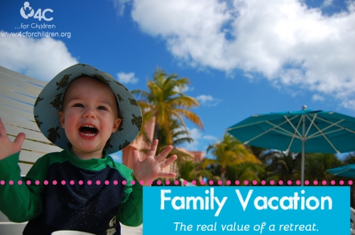 What's the real value of a family vacation? Here's a hint: it's not the dollar value!