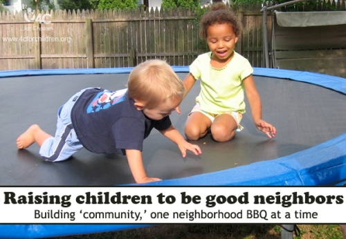 Making the world a better place, one neighborhood BBQ at a time